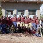 Construction des toilettes de l'école de Marar