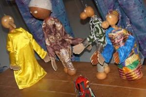 """Les marionnettes de """"Bon Soleil"""""""