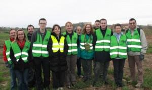 Nettoyage de Printemps : l'équipe Enfrance du Monde