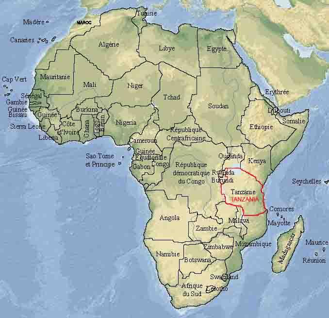 Cartes géographiques Enfrance du Monde