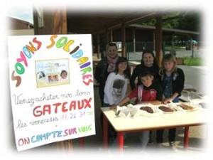 Vente de gâteaux à Chatillon sur Chalaronne