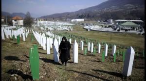 Femme de Srebrenica. (source RTBF)